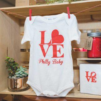 Philly Baby onesie