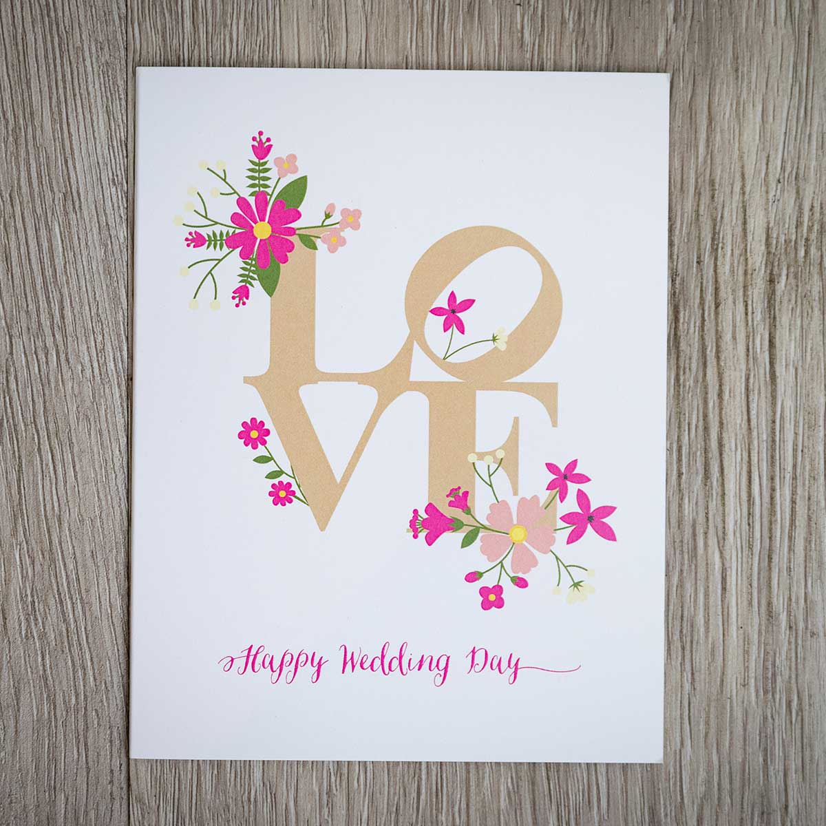 Happy Wedding Day! Best Wishes for the Bride & Groom. Free ... |Happy Wedding Day