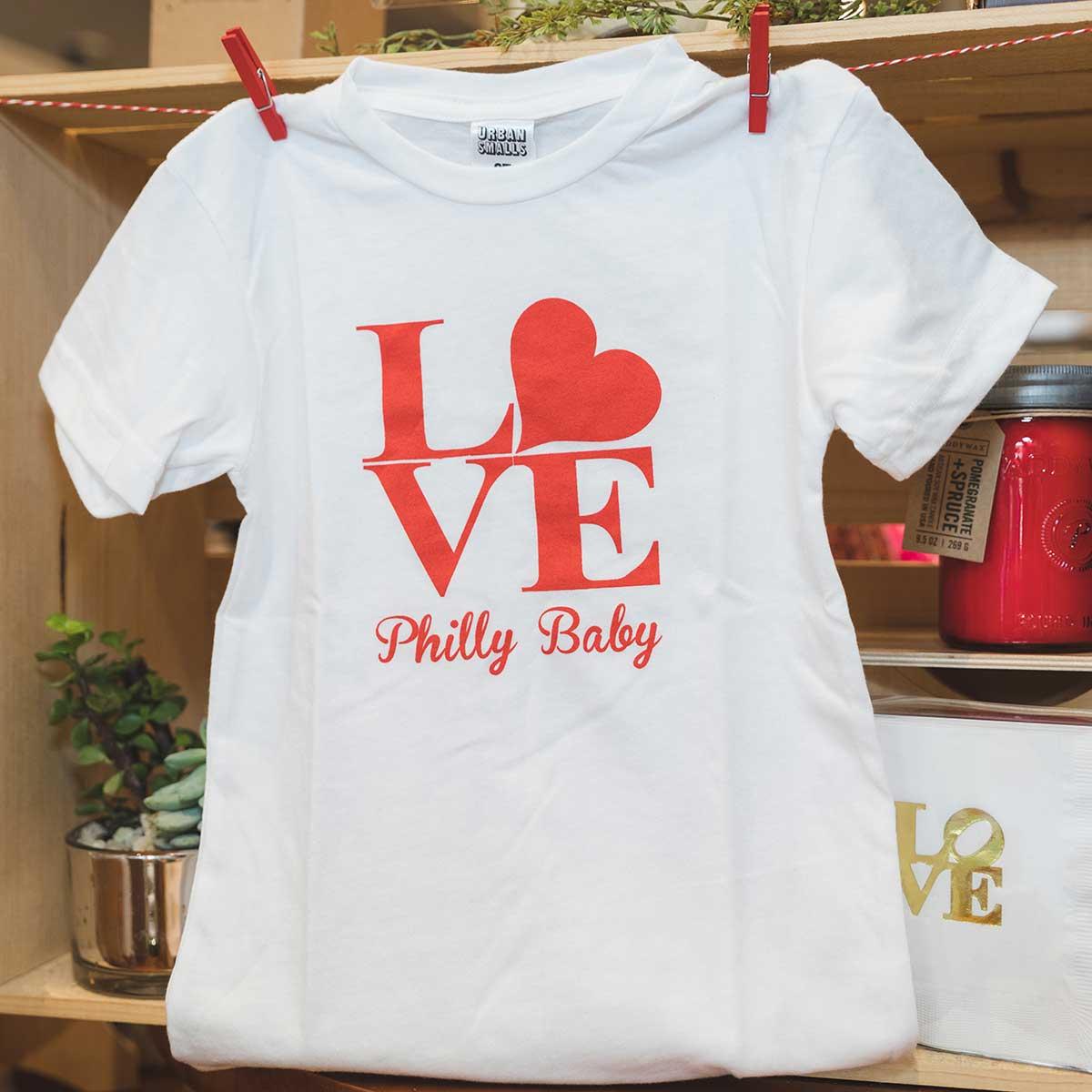 Toddler T-shirt LOVE Philly Toddler T-shirt Philadelphia Toddler T-shirt Philly T-shirt