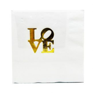 LOVE napkins