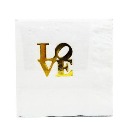 LOVE napkins