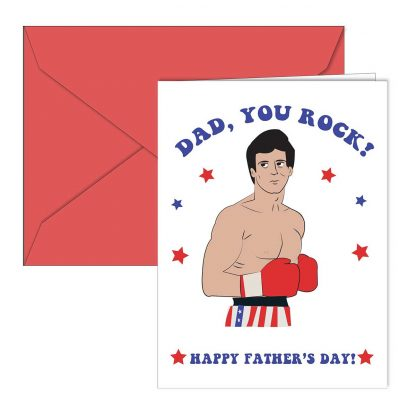 Rocky Father's Day Card