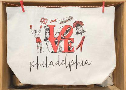 Philadelphia Icons tote bag
