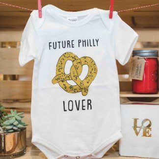 Future Philly Pretzel Lover Onesie