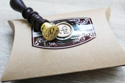 LOVE sign wax seal