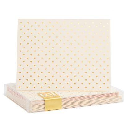 Tiny Hearts Notecards