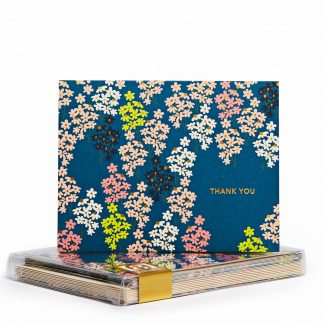Bunches Gold Foil Notecards