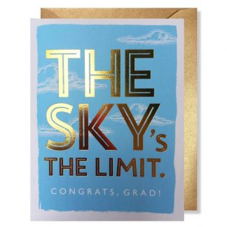 Sky's the Limit Grad card