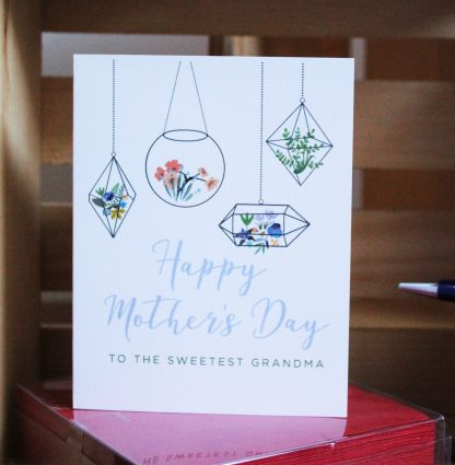 Grandma Mother's Day Plants card