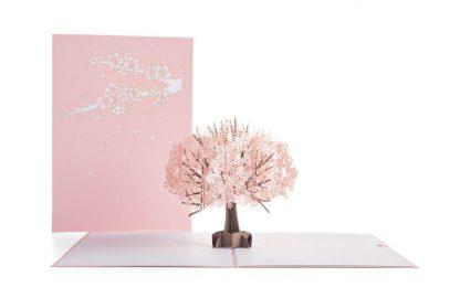 Cherry Blossom 3D card