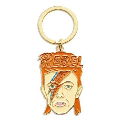 David Bowie Keychain