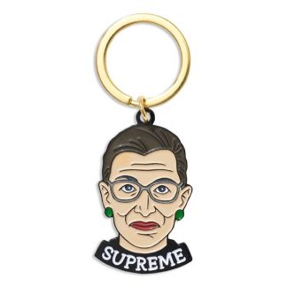 Ruth Bader Ginsburg Keychain.