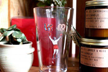 Philadelphia Icons pint glass