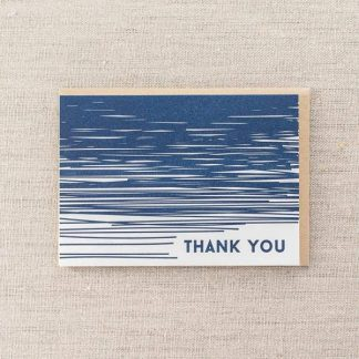 Thank You Lines card