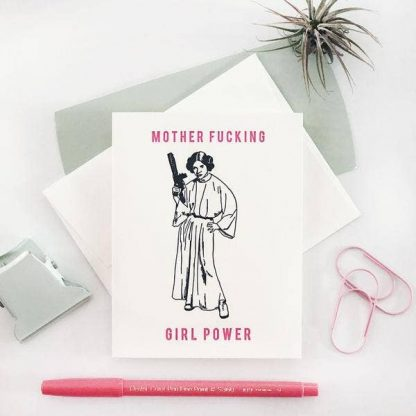 MF Girl Power Card
