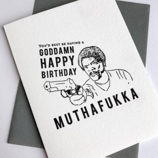 Muthafukka Birthday Card