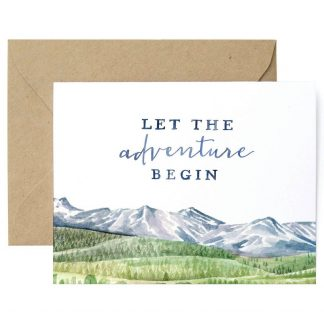 Let The Adventure Begin Card
