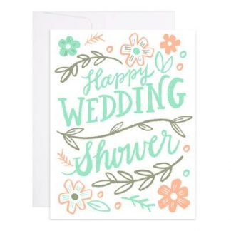 Happy Wedding Shower card