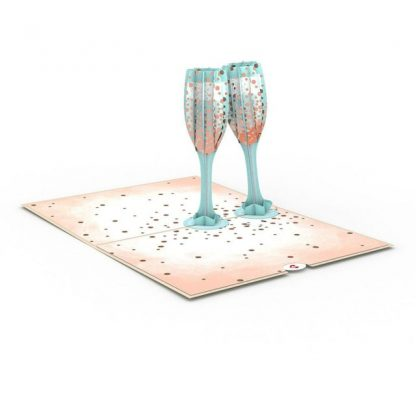 Champagne Toast 3D card