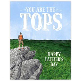 Tops Dad Card