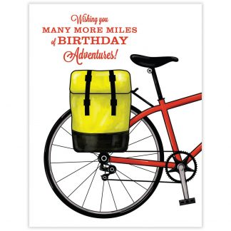 Bike Adventure Birthday Card