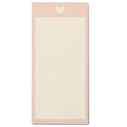 Heart Listpad