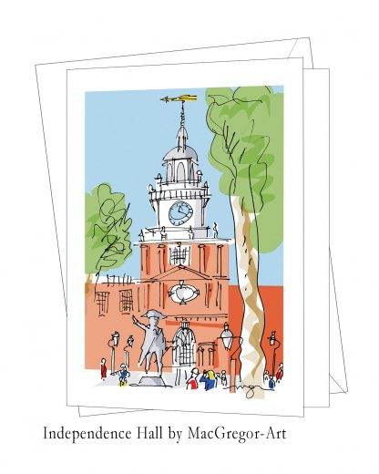 Independence Hall card