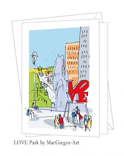 Love Park card