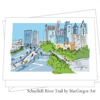 Schuylkill River Trail card