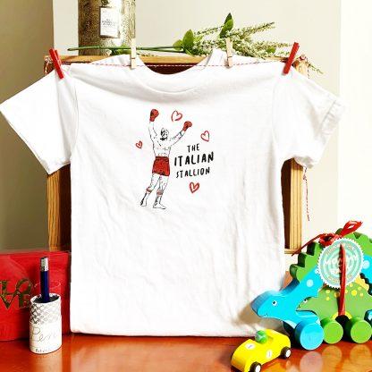 Italian Stallion Toddler T-Shirt