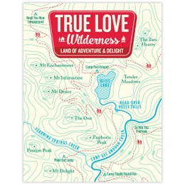 True Love Wilderness Card