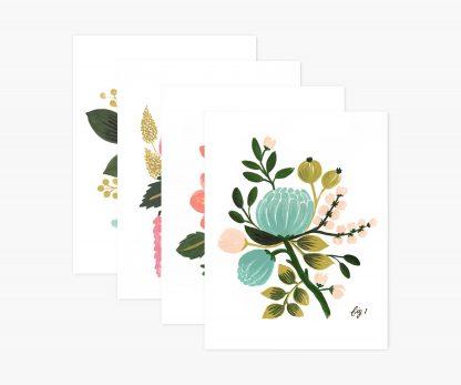 Botanical Assorted Card Set