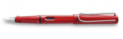 Red Lamy Fountain Pen Medium Nib