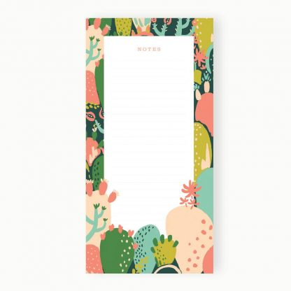 Prickly Pear List Notepad
