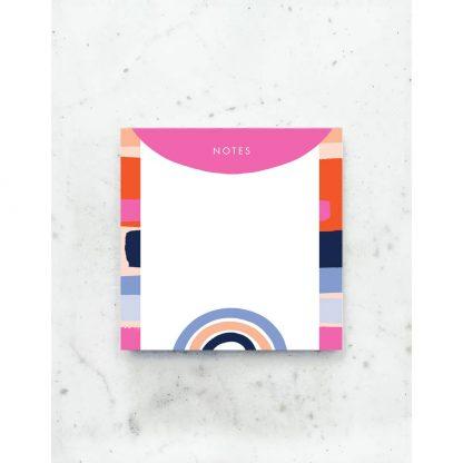 Color Block Deskpad
