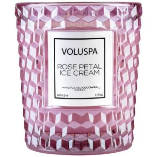 Rose Petal Ice Cream candle