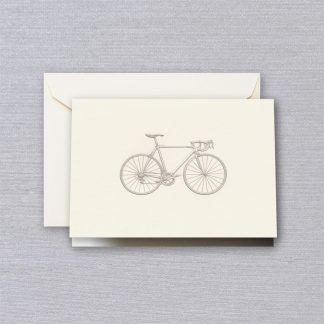 Engraved Racing Bike Notecards
