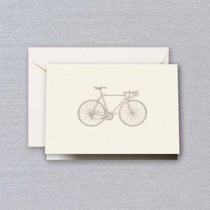 Engraved Racing Bike Notecards