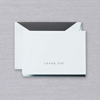 Beach Glass Thank You Notes