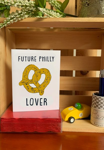 Future Philly Pretzel Lover card