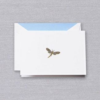 Engraved Dragonfly Notecards