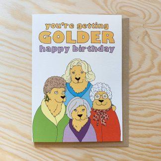 Getting Golder Card