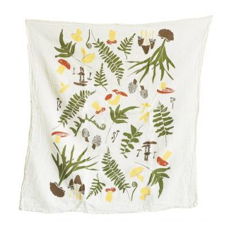 Forest Finds Tea Towel