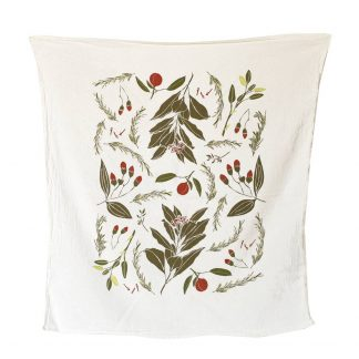Festive Flavors Tea Towel