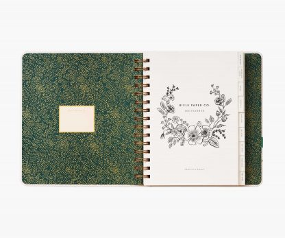Rifle Paper 17 Month 2021 Planner