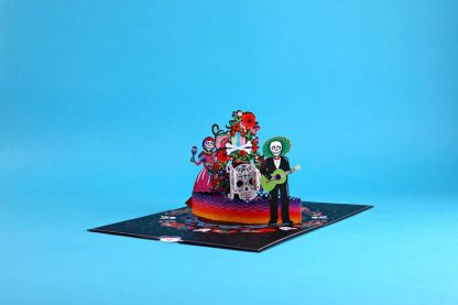 Day of the Dead 3D cards
