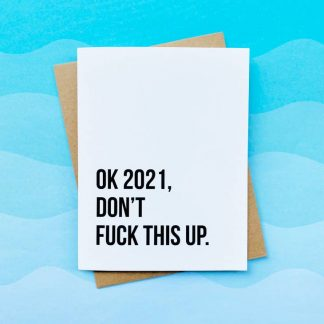 Funny New Years card