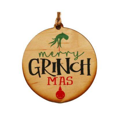Merry Grinchmas Ornament