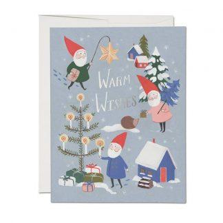 Holiday Gnomes cards