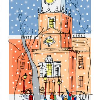 Independence Hall Holiday Cards